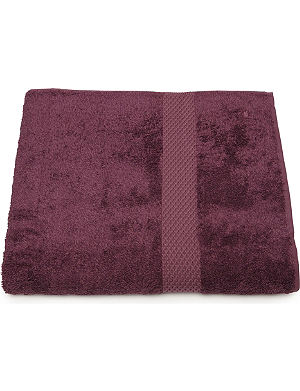 YVES DELORME Etoile bath sheet figue