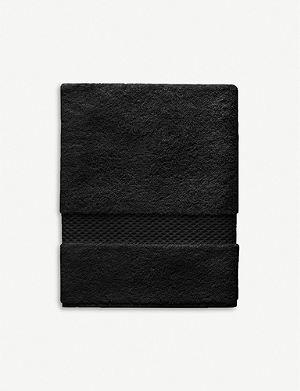 YVES DELORME Etoile bath sheet noir