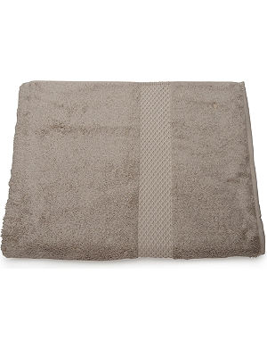 YVES DELORME Etoile bath sheet pierre
