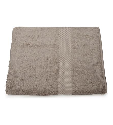 YVES DELORME Etoile bath sheet pierre (Pierre