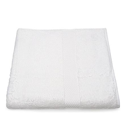 YVES DELORME Etoile face cloth white (Blanc