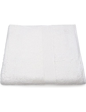 YVES DELORME Etoile face cloth white