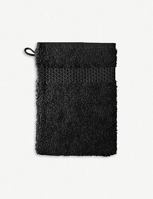 YVES DELORME Etoile face cloth noir