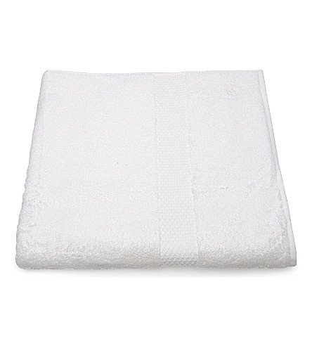 YVES DELORME Etoile guest towel white (Blanc