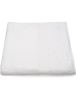 YVES DELORME Etoile guest towel white
