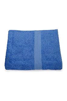 YVES DELORME Etoile guest towel cobalt