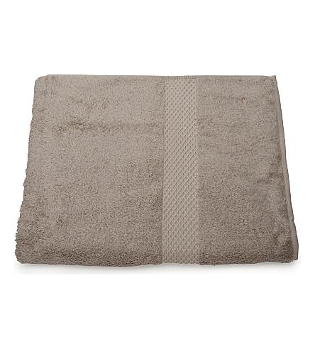YVES DELORME Etoile guest towel pierre (Pierre