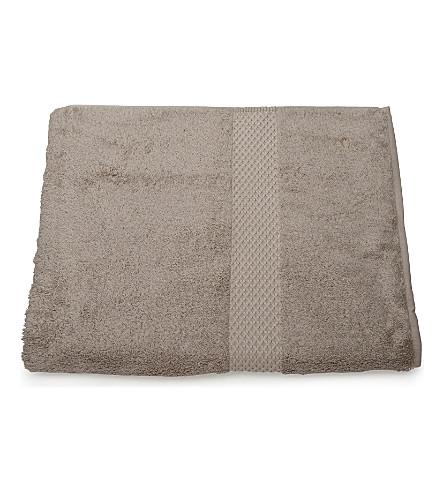 YVES DELORME Etoile hand towel pierre (Pierre