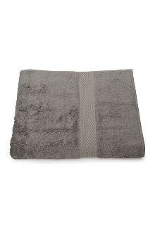 YVES DELORME Etoile hand towel platine