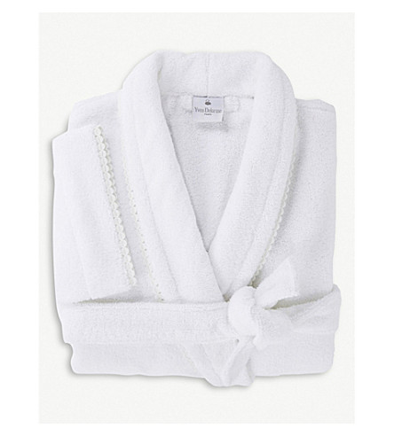 YVES DELORME Louise small bath robe (Amande