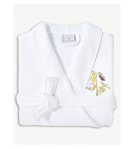 YVES DELORME Senteur cotton bathrobe (Pollen