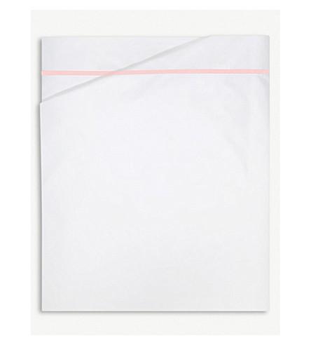 YVES DELORME Athena cotton duvet cover (Blush
