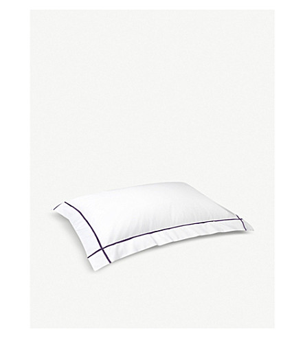 YVES DELORME Athena pillowcase 50x75cm (Figue