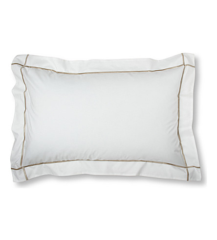 YVES DELORME Athena king pillowcase 50x90cm (Pierre