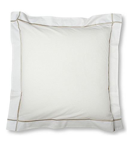 YVES DELORME Athena square pillowcase 65x65cm (Pierre