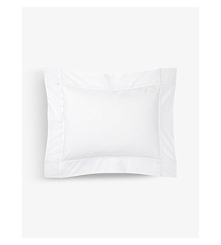 YVES DELORME Athena single pillowcase 30x40cm (Blanc