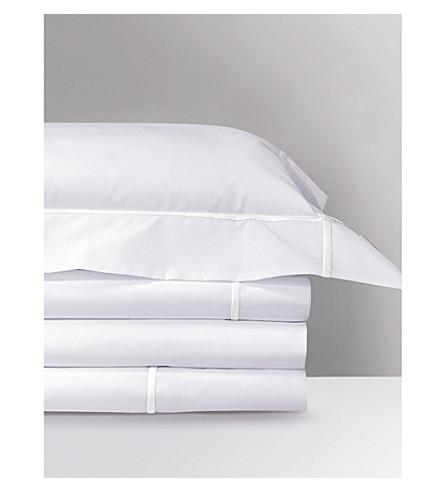 YVES DELORME Athena flat sheet (Blanc