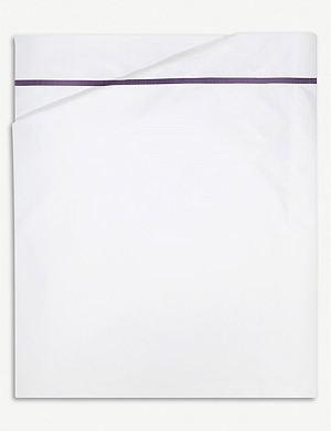 YVES DELORME Athena cotton flat sheet
