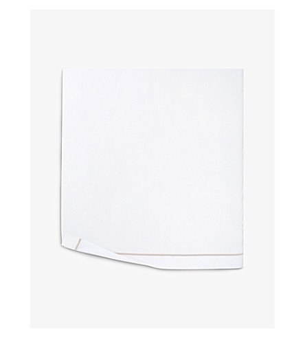 YVES DELORME Athena cotton flat sheet (Pierre