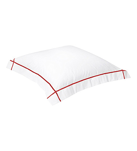 YVES DELORME Athena square cotton pillowcase (Opera