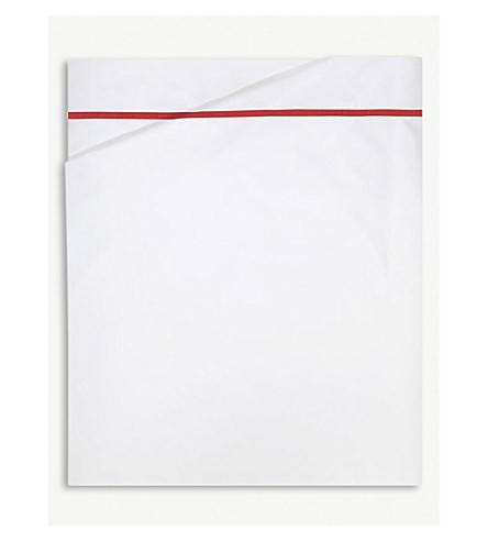 YVES DELORME Athena cotton flat bed sheet (Opera