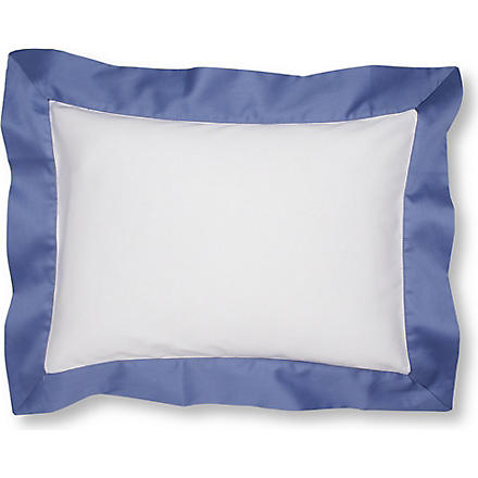 YVES DELORME Cocon Baltic boudoir pillowcase (Baltic
