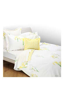 YVES DELORME Solstice Jaune duvet cover