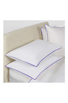 YVES DELORME Amity Bleu pillowcase