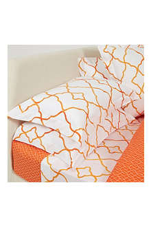 YVES DELORME Jali Safran pillowcase