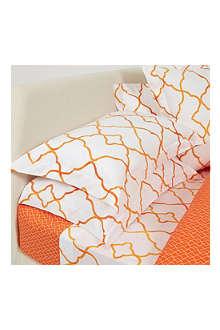 YVES DELORME Jali Safran pillowcase
