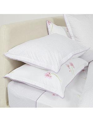 YVES DELORME Je T'aime Parme pillowcase