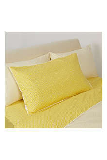 YVES DELORME Un Peu king pillow case
