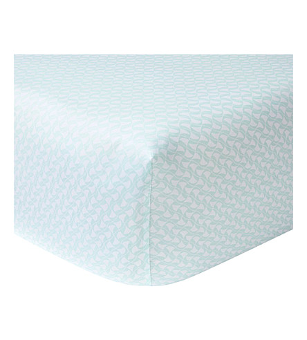 YVES DELORME Ailleurs fitted sheet (Multi