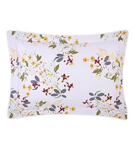 YVES DELORME 路易斯标准棉枕头盒 (Amande