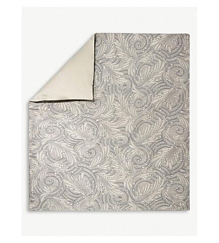 YVES DELORME Opal Egyptian-cotton single duvet cover (Pierre