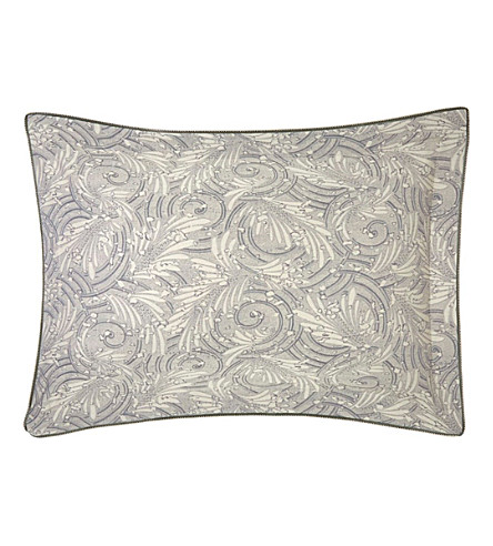 YVES DELORME Opal Egyptian-cotton standard pillow case (Pierre