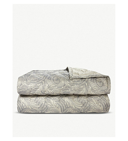 YVES DELORME Opal Egyptian-cotton double quilted bedspread (Pierre