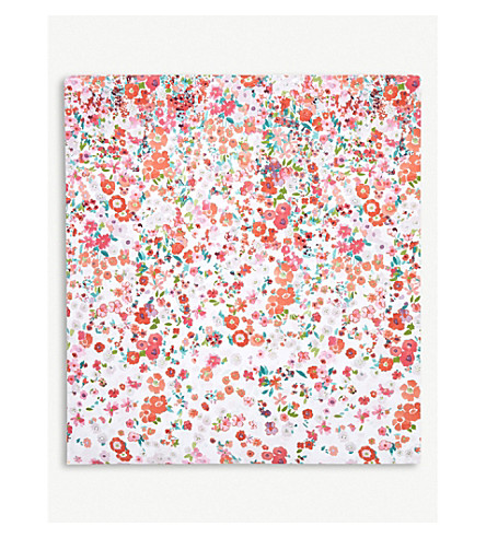 YVES DELORME Milfiori Grenade floral cotton duvet cover (Grenade