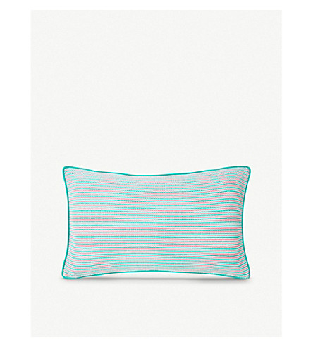 YVES DELORME Rivages Flamant cushion cover (Flamant