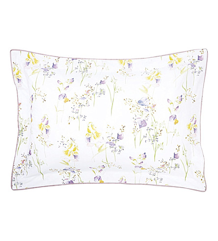 YVES DELORME Senteur cotton pillowcase (Pollen