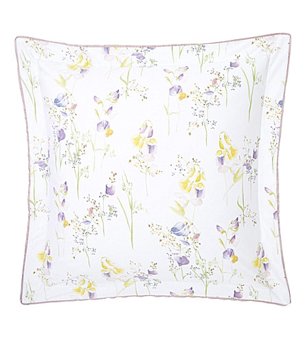 YVES DELORME Senteur square pillowcase (Pollen