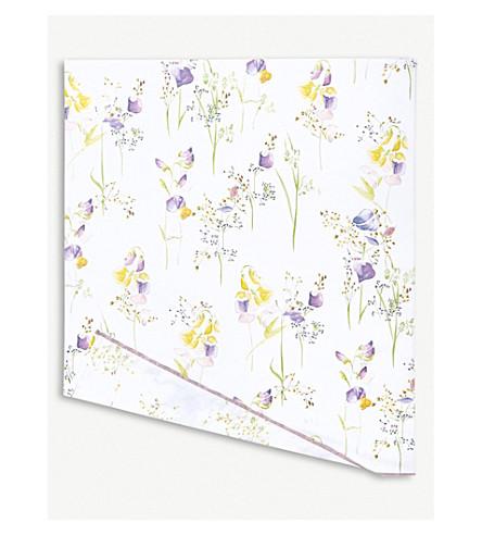 YVES DELORME Senteur cotton flat sheet (Pollen
