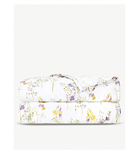 YVES DELORME Senteur Pollen cotton bed cover (Pollen