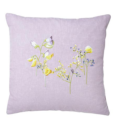 YVES DELORME Senteur Pollen linen cushion cover (Pollen