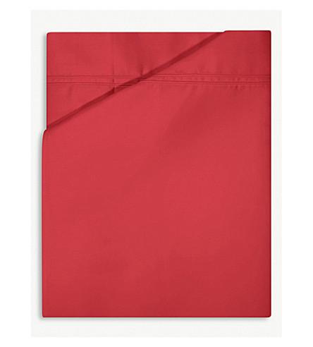 YVES DELORME Triomphe cotton flat sheet (Opera