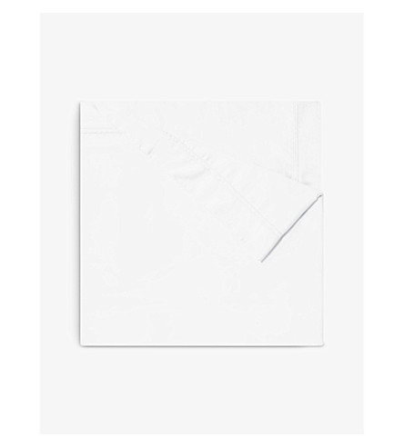 YVES DELORME Triomphe cotton duvet cover (Blanc