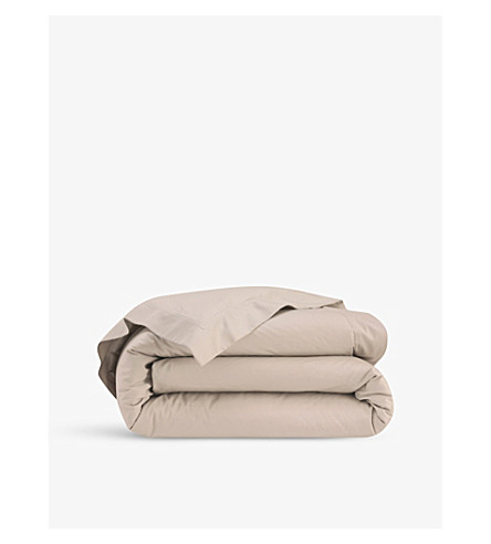 YVES DELORME Triomphe cotton-sateen duvet cover (Pierre