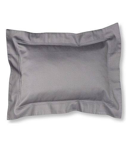 YVES DELORME Triomphe cotton pillowcase (Platine
