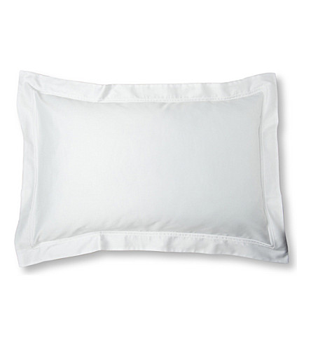 YVES DELORME Triomphe oxford pillowcase (Blanc