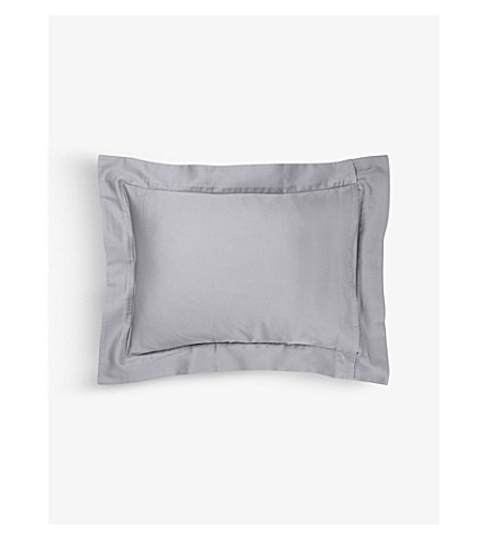 YVES DELORME Triomphe pillow case (Platine